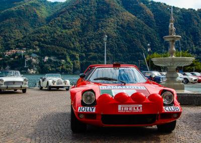 Lancia Stratos sul lago di Como
