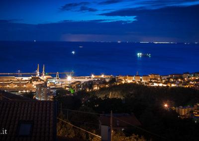 vista di Trieste