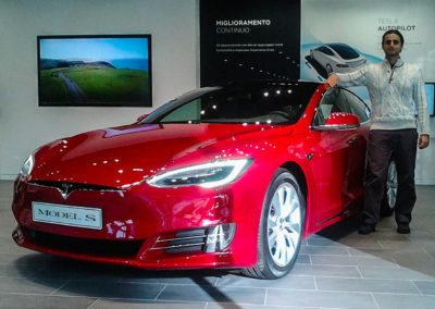 Tesla test drive - model S P100D performance