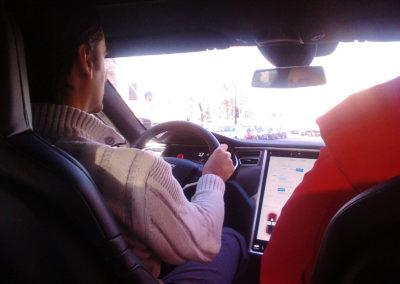 Tesla model S P100D performance testdrive 4 Federico Bidoli