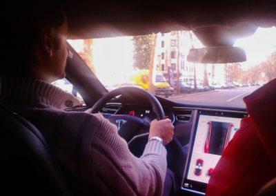 Tesla model S P100D performance testdrive 5 Federico Bidoli