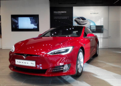 Tesla model S P100D performance testdrive Federico Bidoli